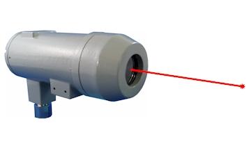 レーザー距離センサ/防爆仕様 (BLDS-6Wシリーズ)